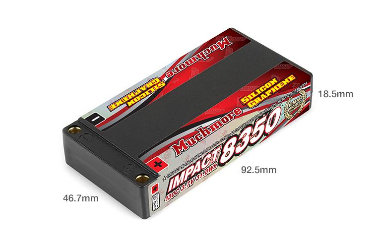 Muchmore IMPACT Silicon Graphene FD4 8350mAh/3.7V 130C Hard Case