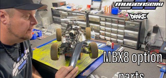 Mugen's Adam Drake Explains Different Carbon Fiber MBX8 Option Parts [VIDEO]