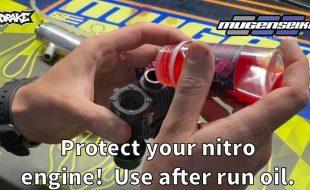 Nitro Engine Storage & After Run Oil With Mugen's Adam Drake [VIDEO]