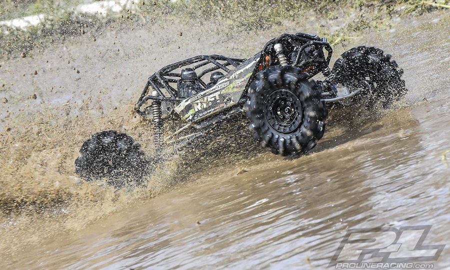 "Pro-Line Interco Black Mamba 2.6"" Mud Terrain Truck Tires"