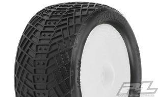 Pro-Line Pre-Mounted Positron Rear 2.2″ MC Tires On Velocity Wheels