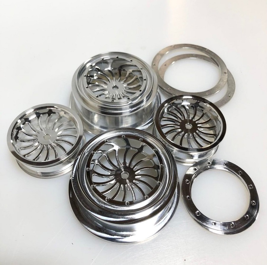 Reef's RC Collector Series Spiral & OG Drag Wheels