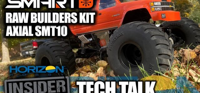 Smart SMT10 Raw Builders Kit – Horizon Insider Tech Talk [VIDEO]