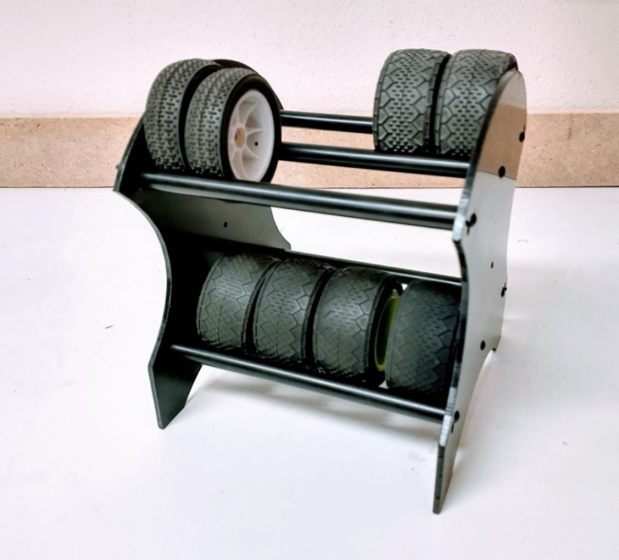 TBR Mini Tire Rack