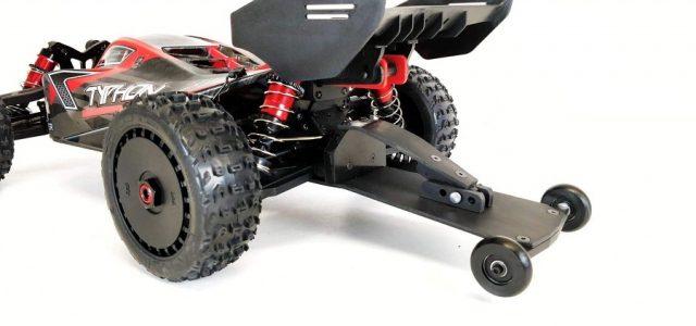 TBR Speed Run Wheelie Bar For The ARRMA 6s Kraton, Typhon, Outcast & Talion