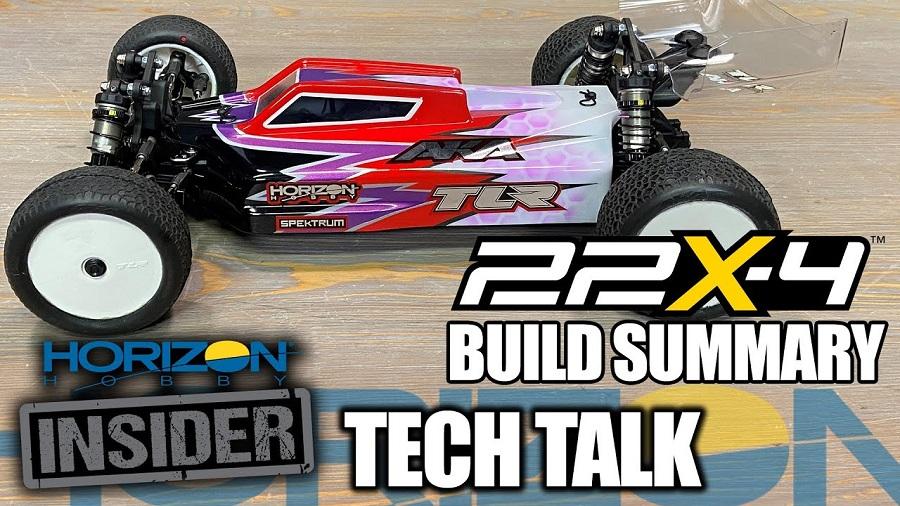 TLR 22X-4 Build Summary - Horizon Insider Tech Talk