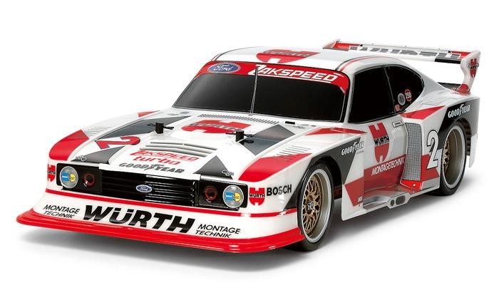 Tamiya RC Ford Zakspeed Turbo Capri