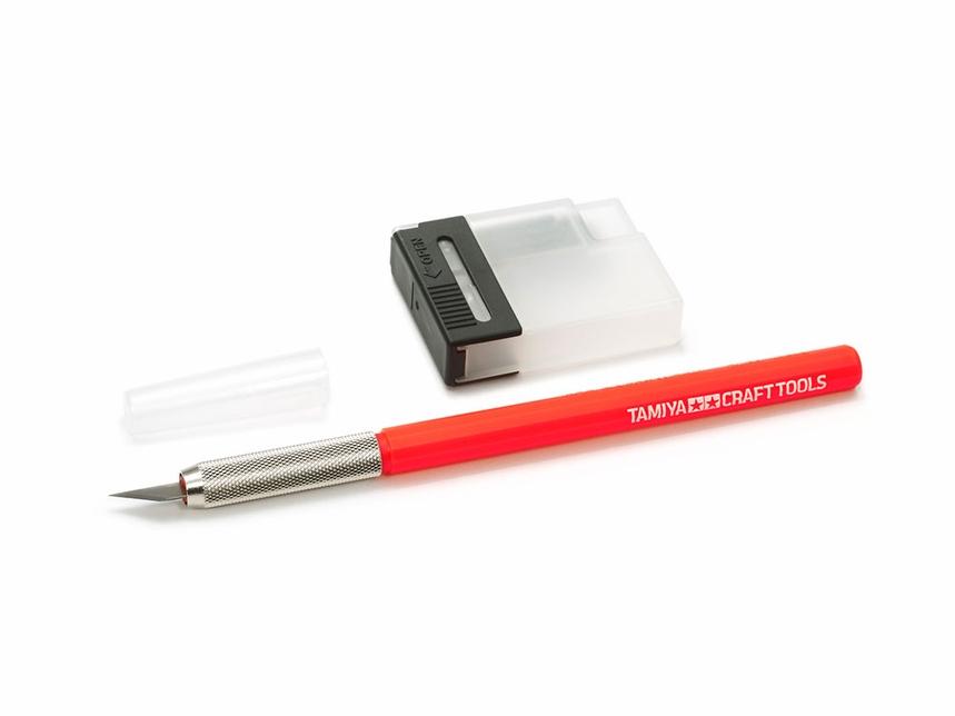Tamiya Red Modeler's Knife