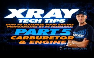 XRAY Tech Tips – Carburetor & Engine [VIDEO]