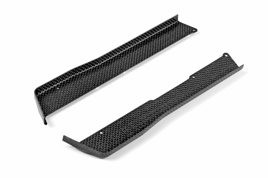 XRAY XB4 Carbon Fiber Chassis Side Guards