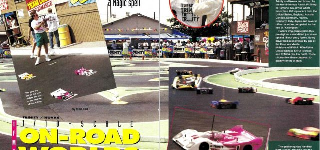 #TBT The 1992 IFMAR 1/10 On-Road Electric Worlds was held at the Ranch