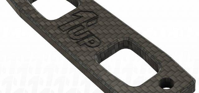 1up Racing B6.3 Carbon Fiber Servo Mount Brace