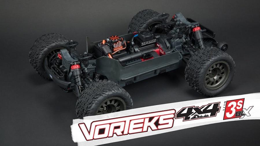 ARRMA Vorteks 4x4 3S BLX Stadium Truck Features & Details