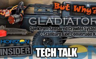 Axial SCX10 III Jeep JT Gladiator – Horizon Insider Tech Talk [VIDEO]