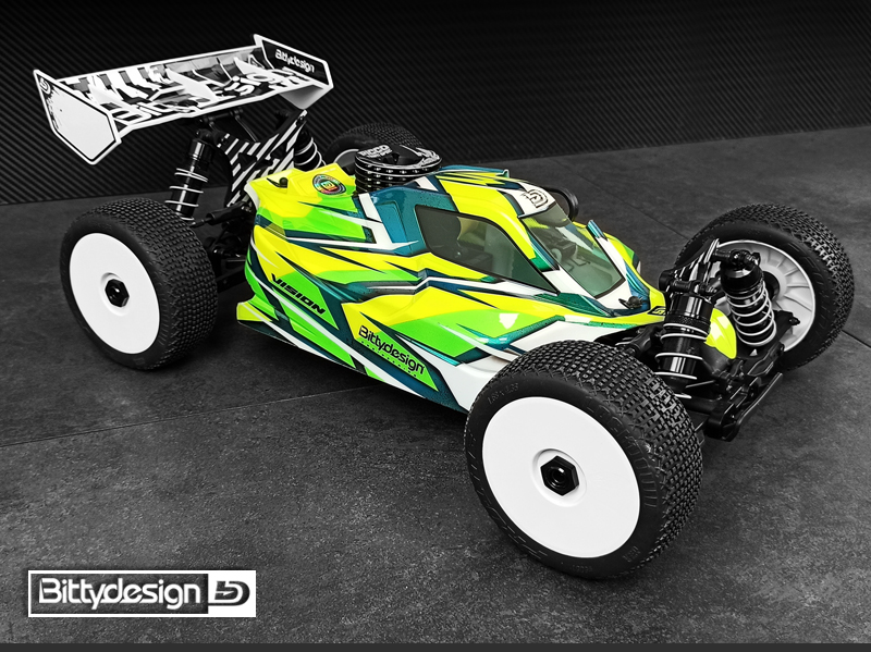 Bittydesign Pre-Cut Clear Vision Body For The JQ THECar Black Edition