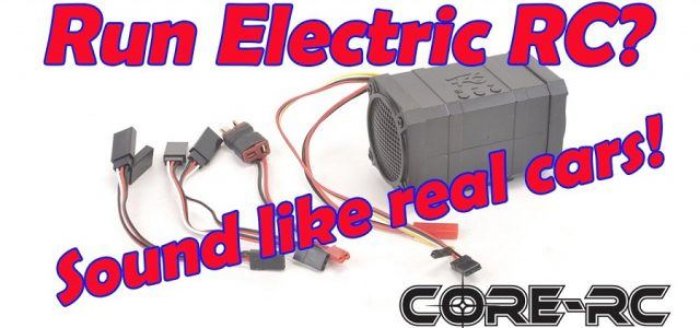 CORE RC Engine Speaker Modules [VIDEO]