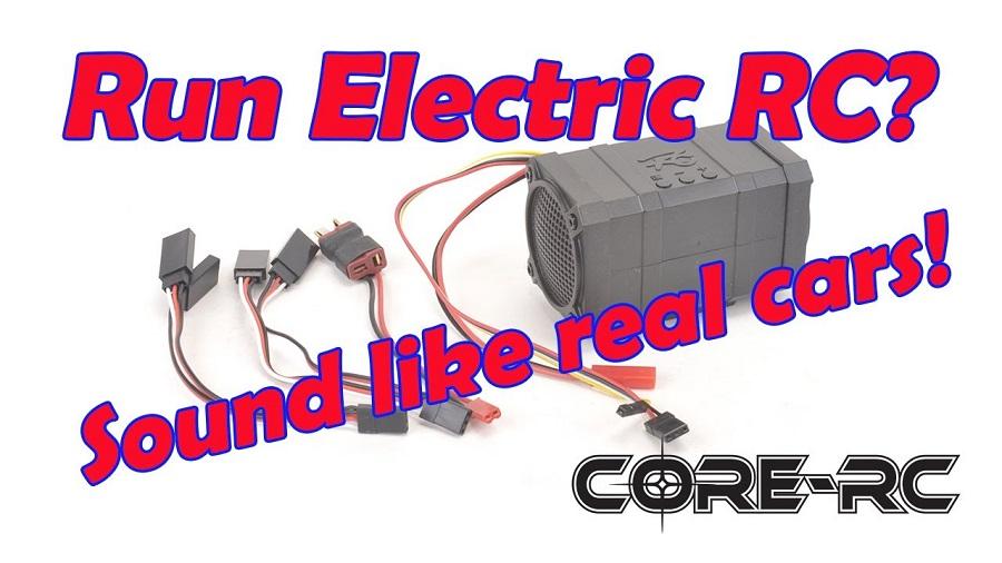 CORE RC Engine Speaker Modules