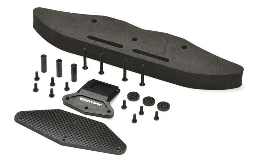 Exotek Eliminator Front Bumper Set For TLR 22 1.0-5.0 Series