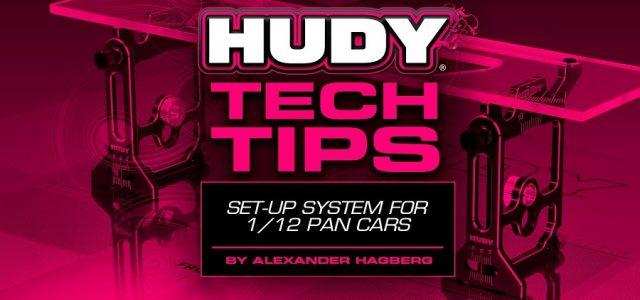 HUDY Tech Tips – Set-Up System 1/12 Pan Car [VIDEO]
