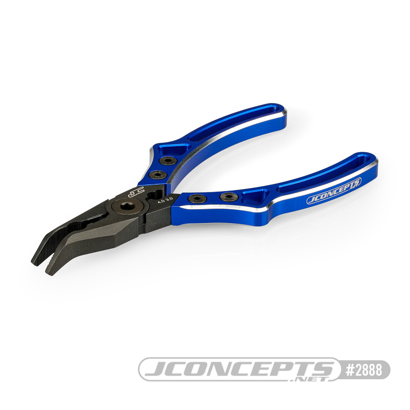 JConcepts Curved Pliers, Side Cutter & Shock Shaft Pincher