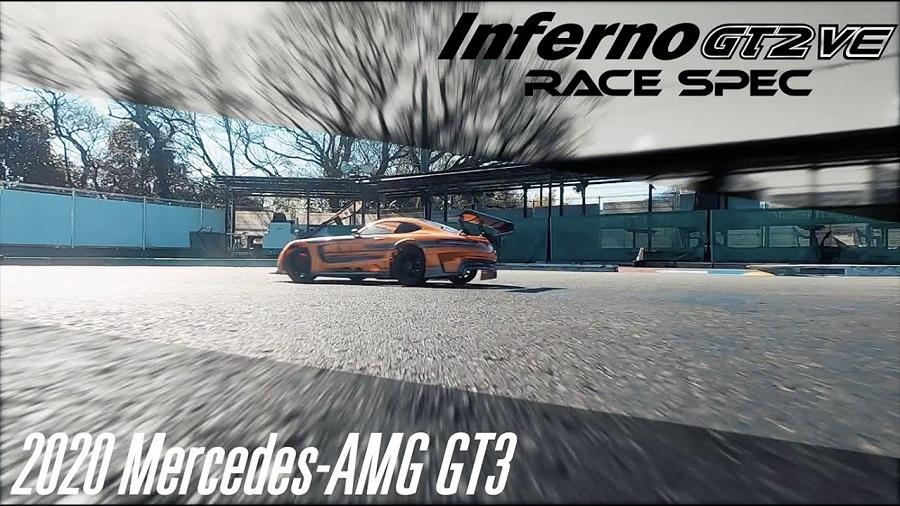 Kyosho Inferno GT2 VE Race Spec 2020 Mercedes-AMG GT3