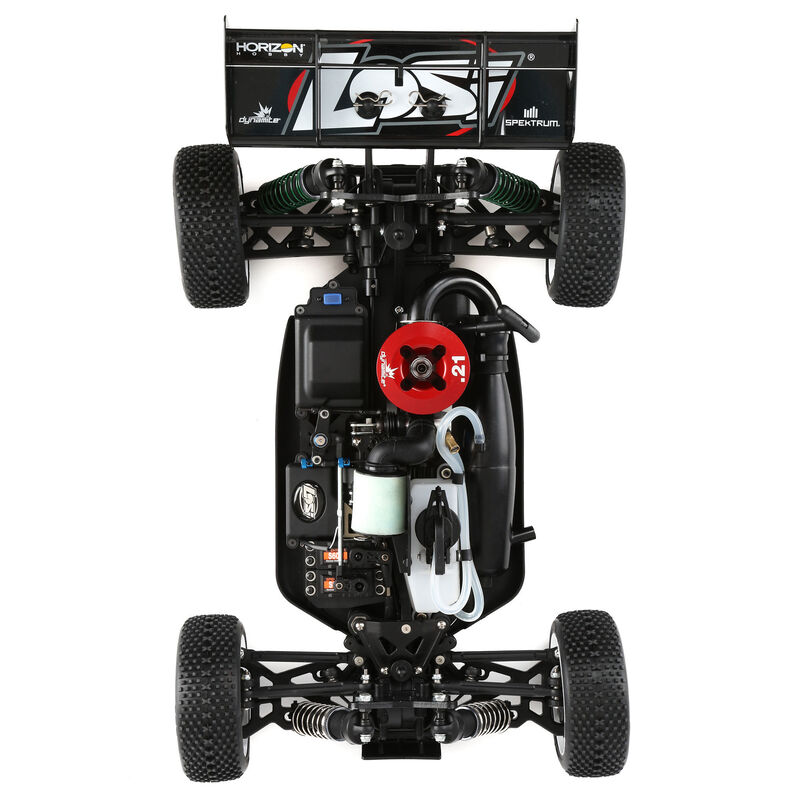 Losi Updates RTR 1/8 8IGHT Nitro Buggy & Truggy With Spektrum Electronics