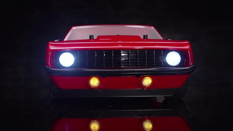 Losi 1969 Chevy Camaro V100 AWD Studio Shots