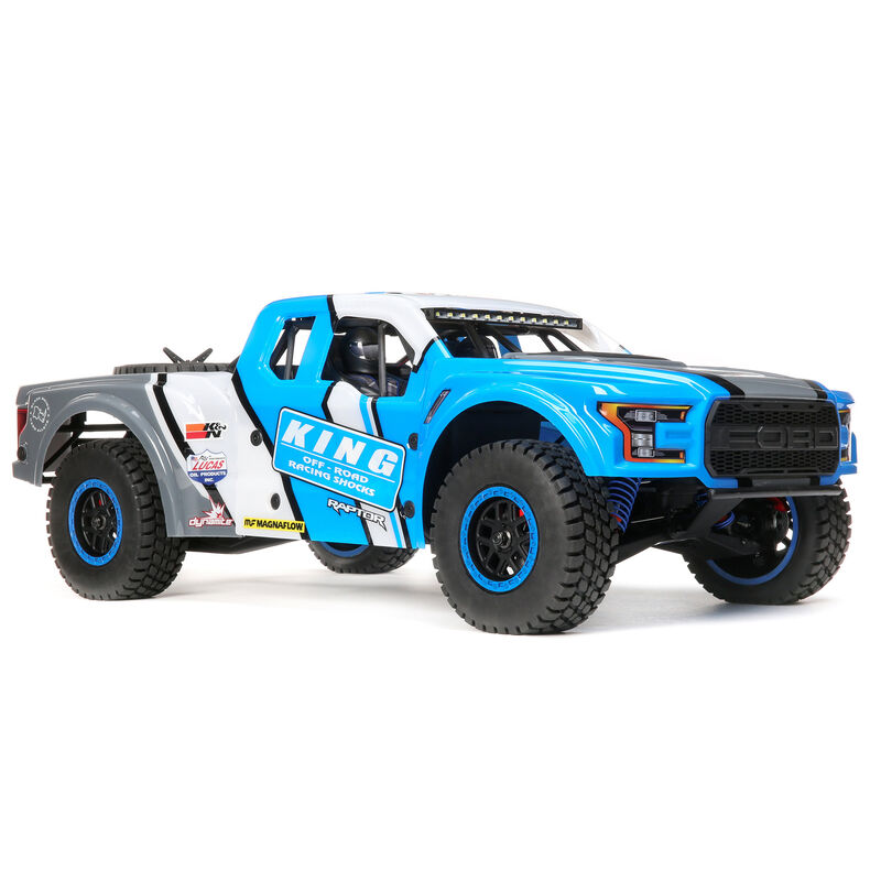 Losi Updates RTR Ford Raptor Baja Rey Desert Racer With Spektrum Smart Electronics