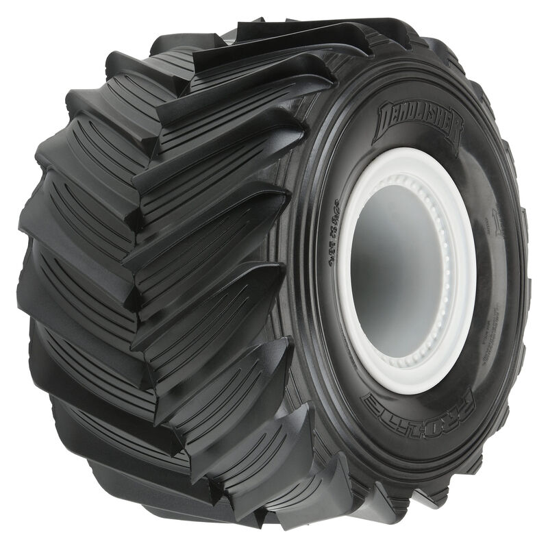 Pro-Line Pre-Mounted 1/10 Demolisher Tires For The Losi LMT