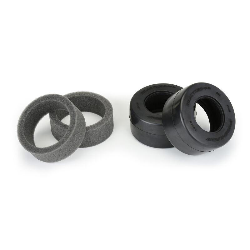 Pro-Line 110 Reaction+ HP Wide SC S3 Drag Belted Tires