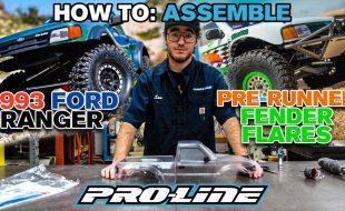 Pro-Line HOW TO: Assemble 1993 Ford Ranger & Pre Runner Fender Flares [VIDEO]
