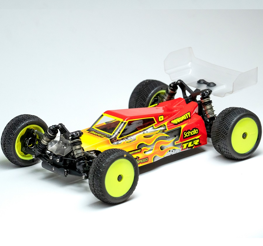 Raw Speed RS-3 Clear Body For the TLR 22X-4