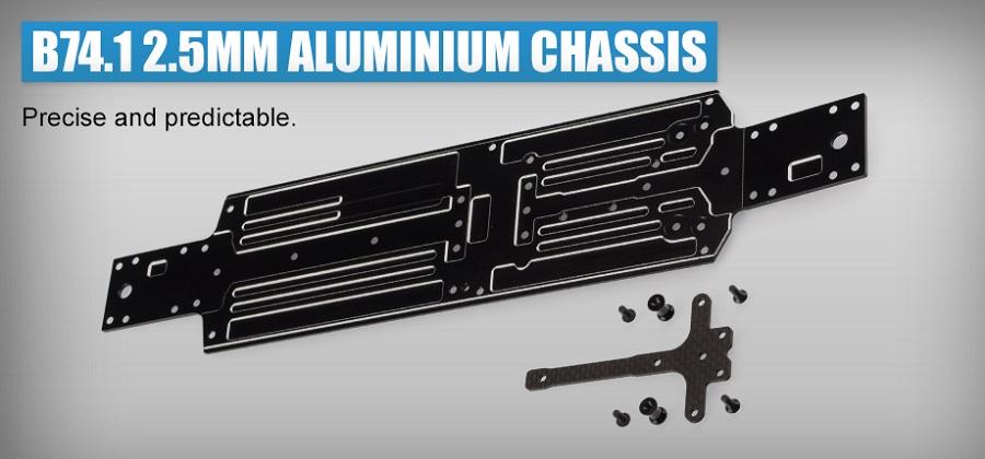 Revolution Design B74.1 2.5mm Aluminium Chassis