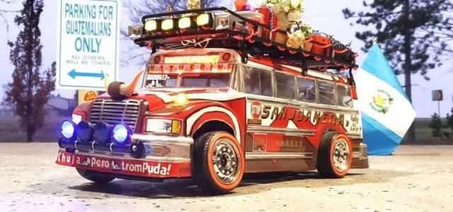 """KATHY"" the Guatemalan Chicken Bus"
