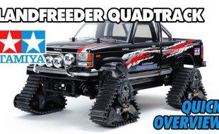 Tamiya 58690 Landfreeder Quadtrack TT-02FT Overview [VIDEO]