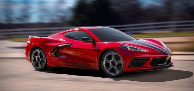 Traxxas 4-Tec 3.0 With Corvette Stingray Body [VIDEO]