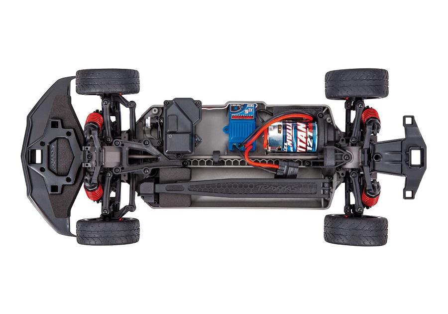 Traxxas 4-Tec 3.0 With Corvette Stingray Body