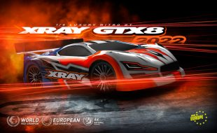 XRAY GTX8'22 1/8 Nitro On-Road Car