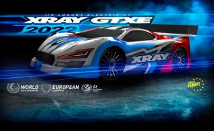 XRAY GTXE '22 1/8 Electric On-Road Car