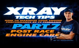XRAY Tech Tips – Post Race Engine Care [VIDEO]