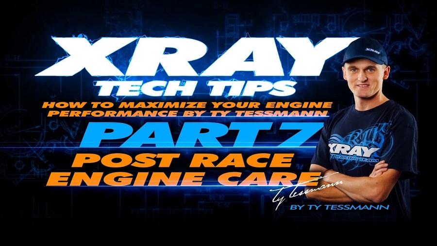 XRAY Tech Tips - Post Race Engine Care