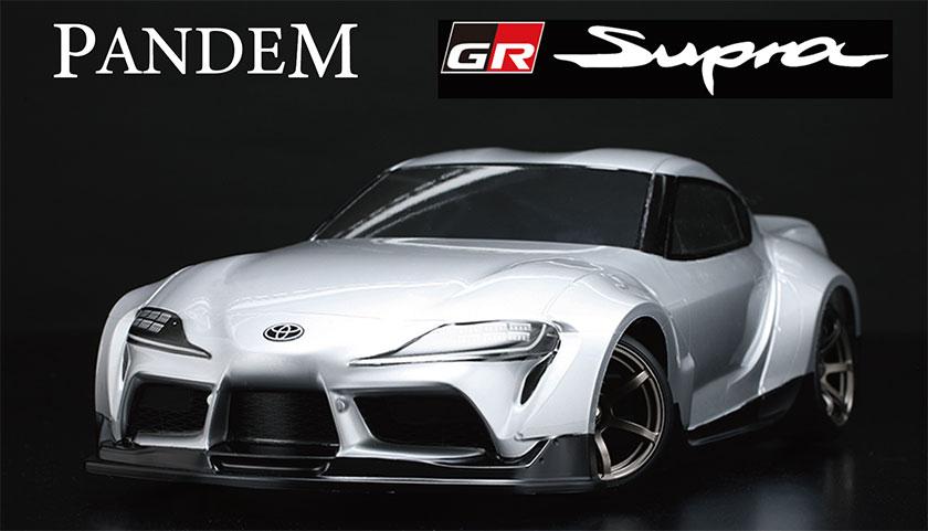 Yokomo Pandem GR Supra Clear Drift Body
