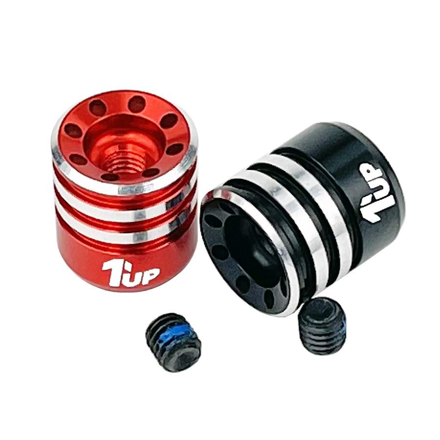 1up Racing Heatsink Bullet Plug Grips