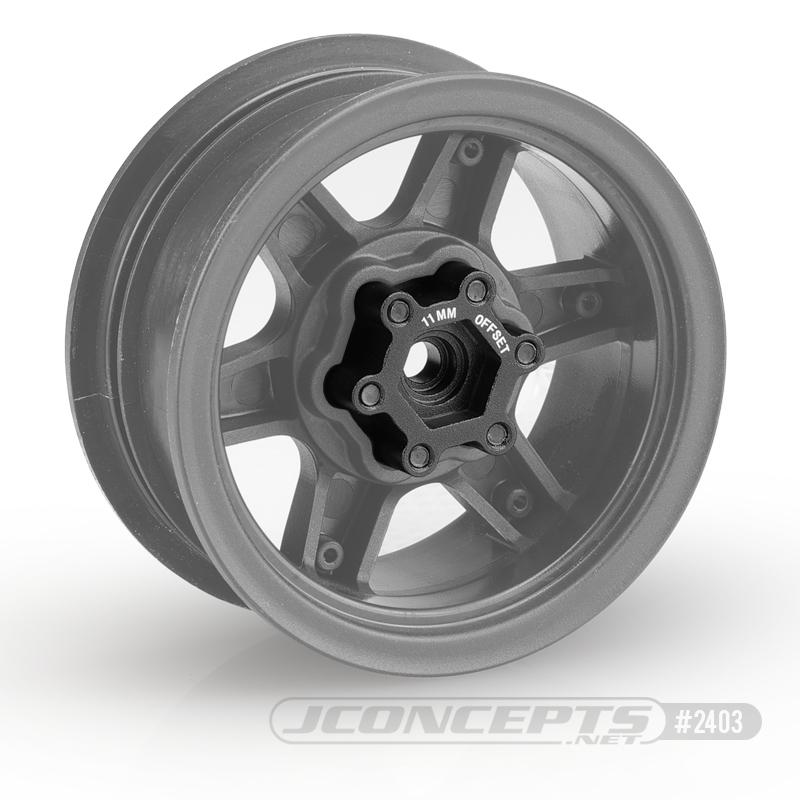 JConcepts Aluminum Hex Adaptors For Tribute Wheels