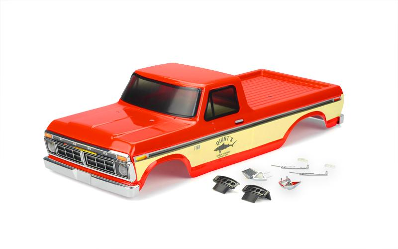 Carisma Red 1976 Ford F-150 Body For The SCA-1E