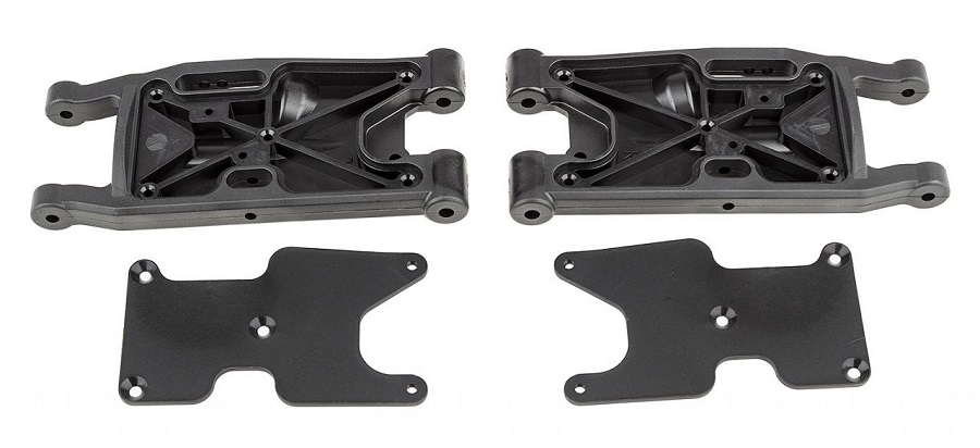 Factory Team HD Front Suspension Arms For The RC8B3.2, RC8B3.2e, RC8T3.2 & RC8T3.2e