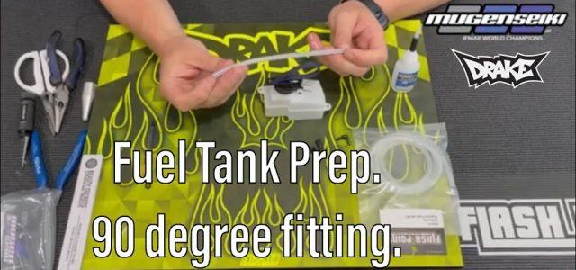 Fuel Tank Prep With Mugen's Adam Drake [VIDEO]