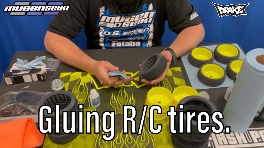 Gluing RC Car Tires With Mugen's Adam Drake