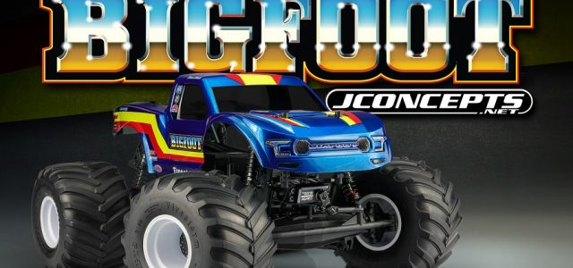 JConcepts Clear 2020 Ford Raptor Body With BIGFOOT 19 Racer Stripe Package [VIDEO]