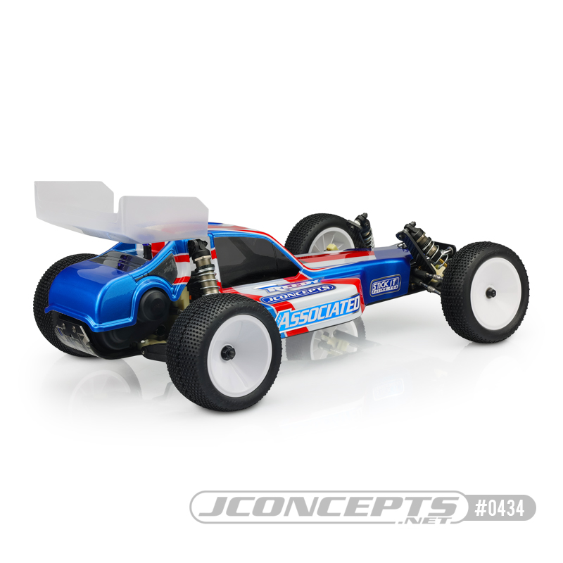 JConcepts Protector Clear Body & 5.5 Wing For The RC10